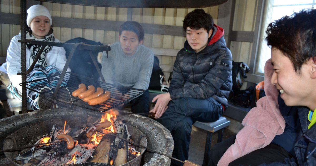 Japanese students' winter school will be soon again in Rauma – here's a #tb to 2018