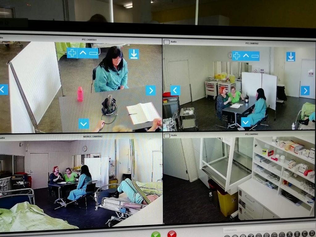 SAMK Case-simulaatio käynnissä
